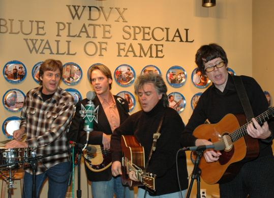 Marty Stuart and His Fabulous Superlatives perform in the WDVX-FM studio.
