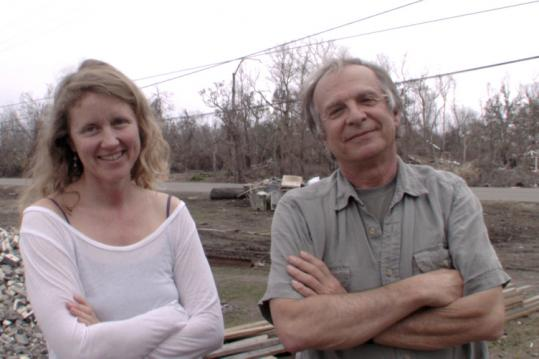 Lucia Small and Ed Pincus co-directed 'The Axe in the Attic,' a documentary about the aftermath of Hurricane Katrina.