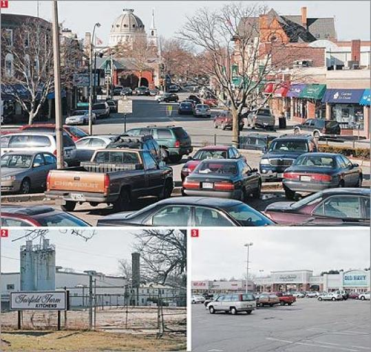 1. Keystone Parking lot, Dedham Officials are talking about the merits of adopting fast-track permitting to possibly attract stores and a parking garage to a Dedham Square parking lot. 2. Fairfield Farm Kitchens, Brockton The Brockton City Council last month approved fast-track permitting to attract developers or companies to underutilized or vacant warehouses. The state, though, still needs to sign off on the expedited process. 3. Walpole Mall, Walpole The Walpole Mall last year received approval, under fast-track permitting, for a 100,000-square-foot expansion as well as facade and landscaping improvements.
