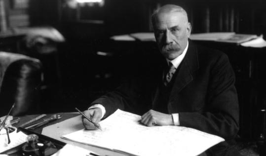 Edward Elgar (above) based the oratorio, which premiered in 1900, on a 19th-century poem by John Henry Cardinal Newman.