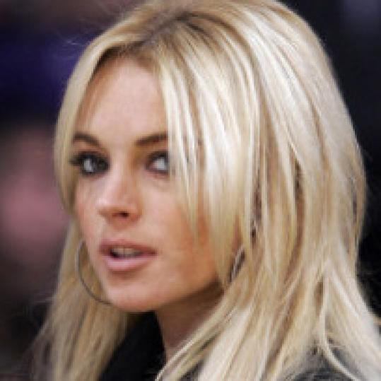 lindsay lohan hair color dark. Lindsay Lohan has revealed why