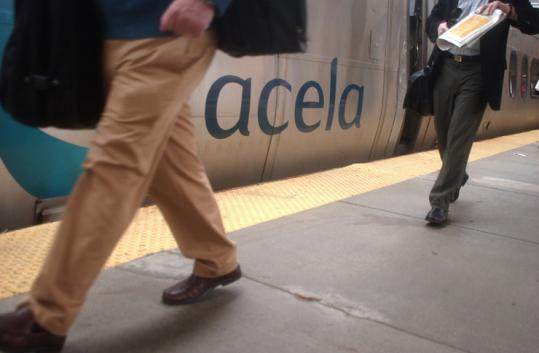 An Amtrak strike would have curtailed service such as the high-speec Acela from South Station to points south.