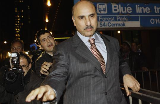 Chicago real estate developer and fast-food magnate Antoin 'Tony' Rezko faces charges that include money laundering.