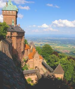 Haut-Koenigsbourg stood empty for some 250 years before its restoration.