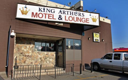 Gunfire erupted early yesterday morning at the King Arthur lounge during a fight. Jeff Santiago, 28, of Everett was killed.
