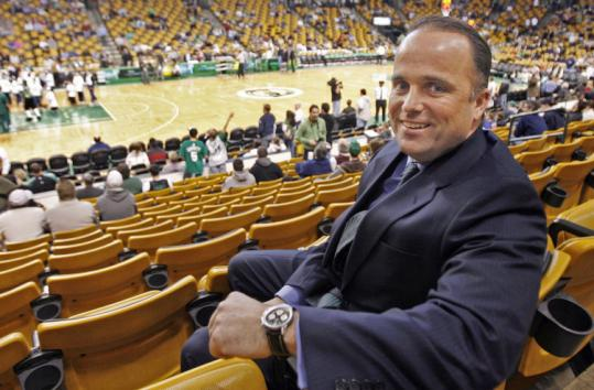 Sean Barror, a senior vice president with the Boston Celtics, says he has a dream job. 'Sometimes I just can't believe it.'