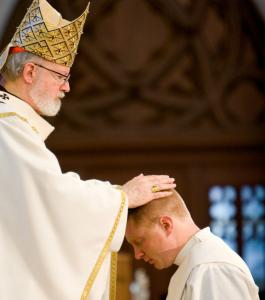 Cardinal Sean P. O'Malley ordained Daniel J. Kennedy last year in Boston. The cardinal will say his funeral Mass today.