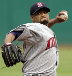 Johan Santana is now the game's highest-paid pitcher.