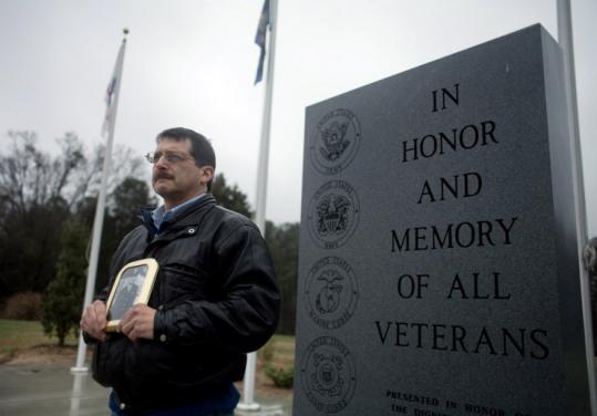 Gary Zaetz at National Veterans Freedom Park in Cary, N.C. Zaetz wants the government to recover a bomber lost in northern India in 1944 and found by a mountaineer a year ago.