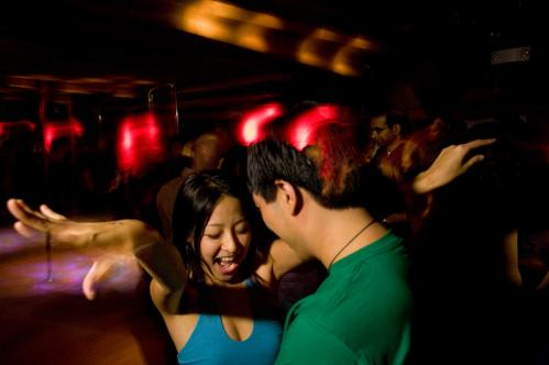 From left, Mavlyn Wang and Bing Cheah worked it out on the dance floor. More info on Sanctuary SUBMIT Your nightlife photos! TALK What scene should we visit next?
