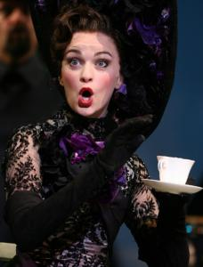 Lisa O'Hare as Eliza Doolittle in 'My Fair Lady,' at the Opera House.