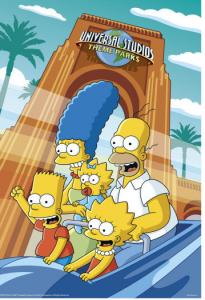 At Universal Orlando, a Simpsons ride is scheduled to open sometime this spring.