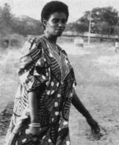 Sylvie Umubyeyi (above) is one of the survivors quoted by author Jean Hatzfeld.
