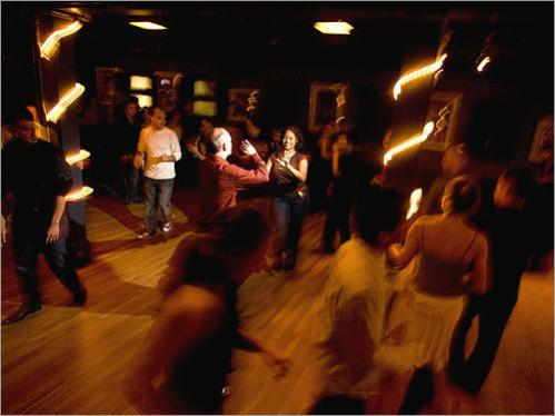 No matter how chilly the Sunday, the upstairs dance hall at Ryles Jazz Club is always hot. The Cambridge venue has hosted Salsa Sundays for about three years, and dancers come from all around the city and the region to dip, spin, and cha-cha-cha. Don't worry if you have two left feet. There's a salsa lesson for beginners at 6 p.m. before the dance floor opens up at 7 p.m. — Courtney Hollands, Globe Staff