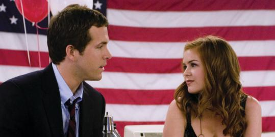 Isla Fisher And Ryan Reynolds