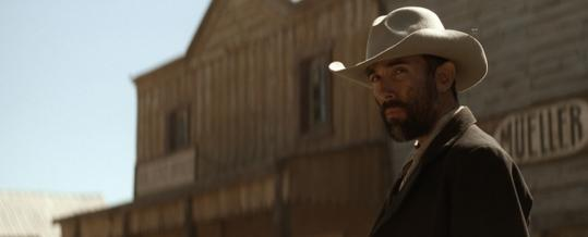 Francesco Quinn plays a cattle thief in 'The Tonto Woman.'