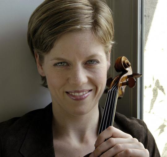 German-born violinist Isabelle Faust, who has an impressive new Beethoven CD out, has built her career almost entirely in Europe.