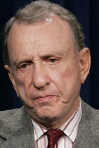 ARLEN SPECTER Still not satisfied