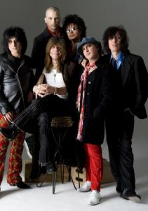 Only David Johansen and Sylvain Sylvain remain from the original '70s lineup.