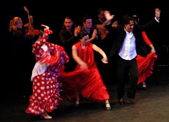 Noche Flamenca's performances are a group effort among dancers, guitarists, and singers.