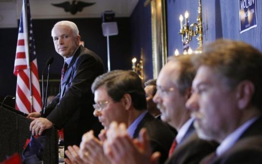 Senator John McCain campaigned in Milwaukee last week. He spoke at the Milwaukee County Reagan Day Dinner on Friday.