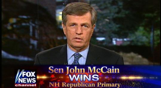 Brit Hume showed both his curmudgeonly and good-natured sides during Fox News' New Hampshire primary coverage.