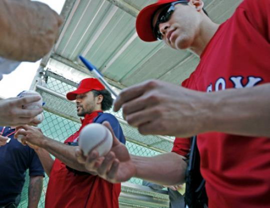 Coco Crisp stopped short of demanding a trade from the Red Sox - for now.