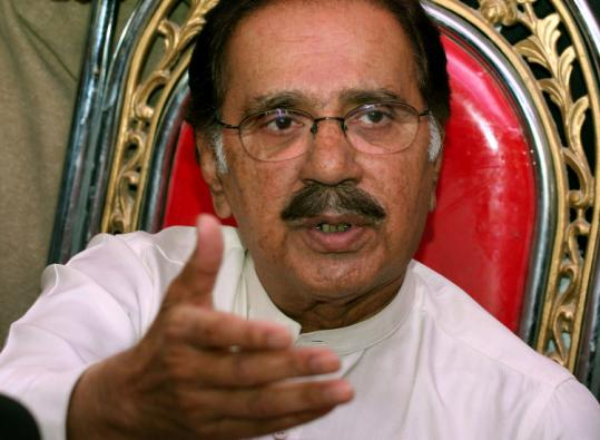 Makhdoom Amin Fahim, a veteran politician and member of the Pakistan People's Party, was said to be the front-runner.