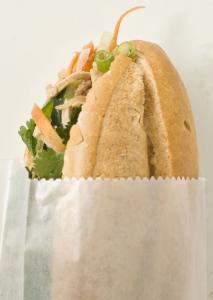 Banh mi with shredded pork from New Saigon Sandwich in Chinatown