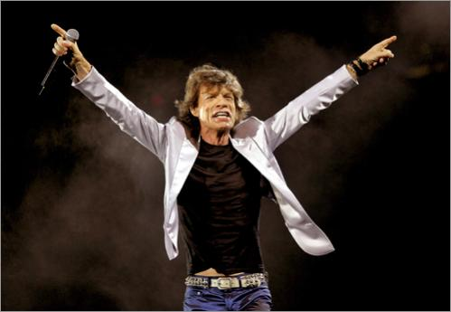 Buy photographs by Matthew J. Lee The Rolling Stones open their World Tour at Fenway Park in 2005.