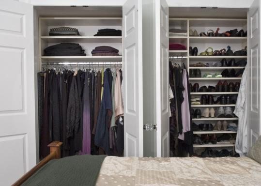 Abbey Koplovitz designs a new closet organizing systems. She advises clients to first decide whether they want to see everything in their closets.