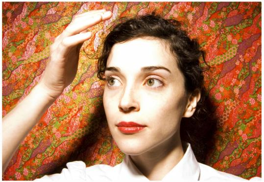Annie Clark performs as St. Vincent, and is touring in support of her debut album, 'Marry Me.'