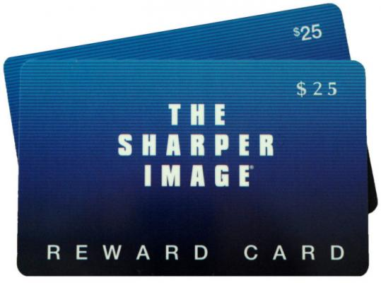 Sharper Image gift cards are currently unredeemable as the company has filed for bankruptcy protection.
