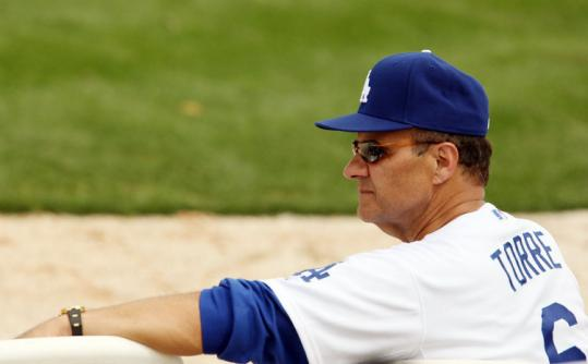 Now that Joe Torre is with the Dodgers, Terry Francona will have no reservations about showing his admiration in public.