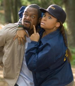 Martin Lawrence plays an overprotective father, and Raven-Symoné is his college-bound daughter.