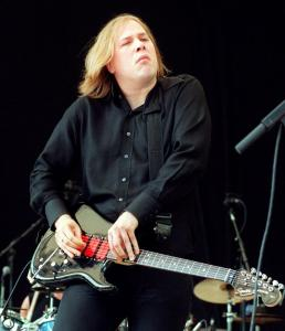 Jeff Healey had a distinctive style of playing his guitar.
