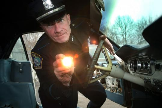 Boston police Officer Michael Santry says about car theft: 'The biggest thing is prevention. The police department doesn't want cars to get stolen.'