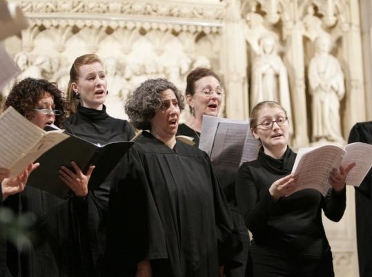 The music group of Emmanuel Church (pictured last year) lost its longtime leader in November.