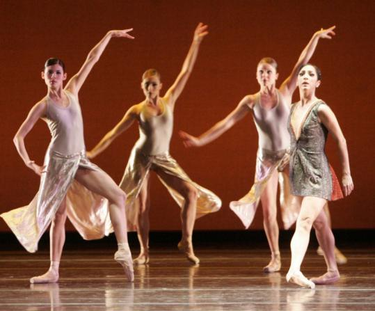 A scene from dress rehearsal of the Boston Ballet's performance of 'Next Generation.