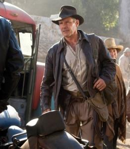Harrison Ford in Paramount's newest Indiana Jones movie.