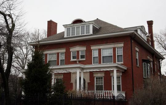 Barack and Michele Obama bought this 6,400-square-foot, six-bedroom, six-bathroom house in the Kenwood neighborhood of Chicago in June 2005 for less than the asking price. (Tasos Katopodis/Getty Images)