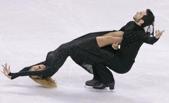 Tanith Belbin and Ben Agosto teamed with Chopin to dance off with the US title in January.