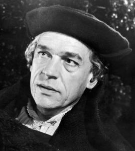 Paul Scofield was the portrait of smooth defiance as Thomas More.