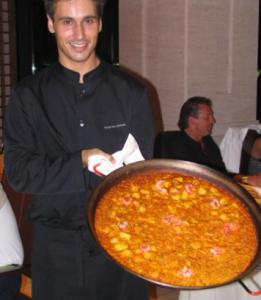 Paella is big at Hotel Las Arenas in Valencia, Spain.