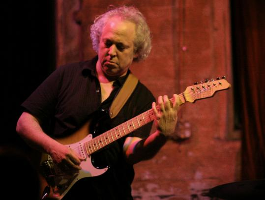 Guitarist David Torn, shown performing last year in Brooklyn, N.Y.