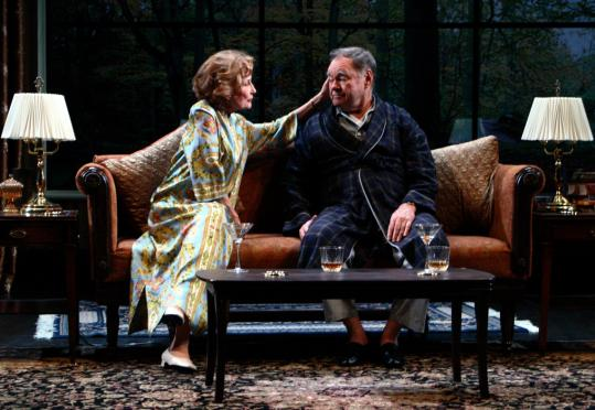 Jennifer Harmon and Jack Davidson portray a patrician couple in Edward Albee's play.