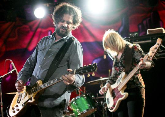 Alabama rockers Drive-By Truckers played for more than two hours Saturday in front of a packed house at the Paradise.