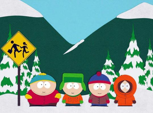 Fans of (from left) Cartman, Kyle, Stan, and Kenny can now watch the exploits of the foulmouthed, animated kids from Colorado free on South Park Studios' website. 'South Park' is Comedy Central's highest-rated show.