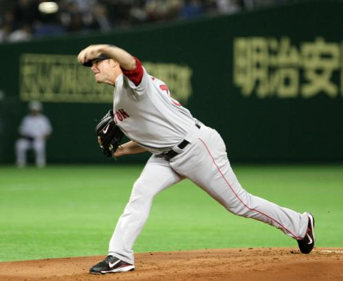 Jon Lester started Game 2 for the Red Sox, lasting only four innings and giving up four runs in the loss.