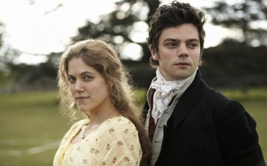 Charity Wakefield is Marianne and Dominic Cooper is Mr. Willoughby in 'Sense and Sensibility,' tommorow on PBS.